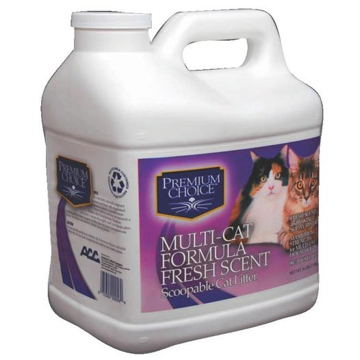 Premium Choice Multi Cat Litter Scented 16 Lbs
