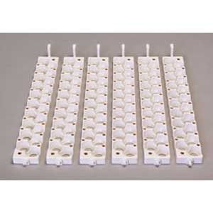 Six Small Egg Rails for Quail Eggs Best Price