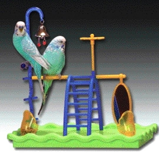 Insight Play Gym For Birds