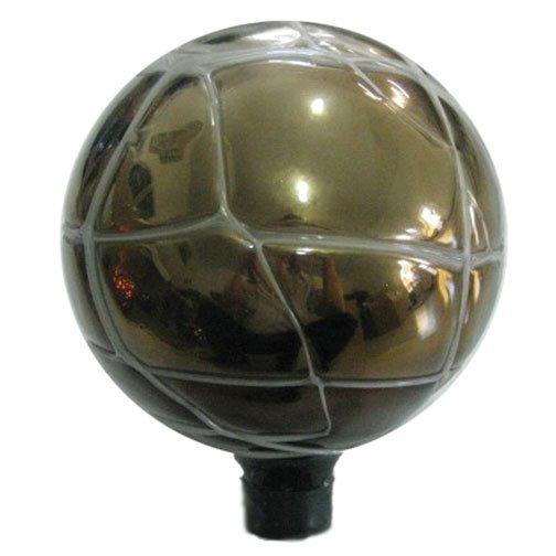 Glass Globe - Silver / 10 inch Best Price