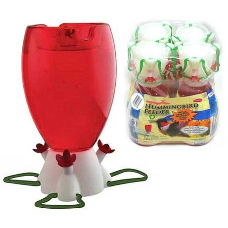 Prefilled Hummingbird Feeders - 4 pack Best Price