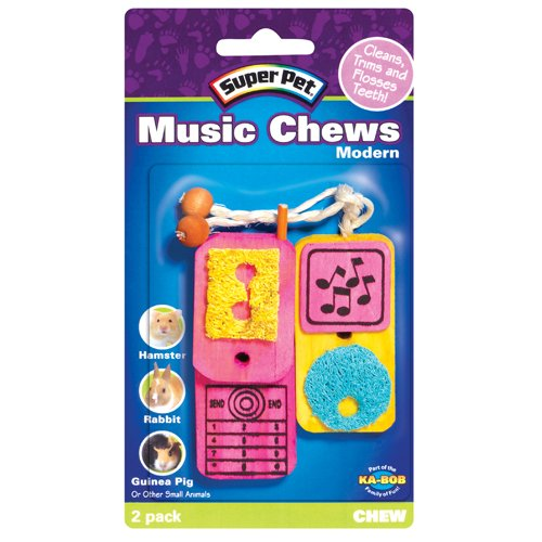 Small Pet Modern Music Chews 2 pk. Best Price