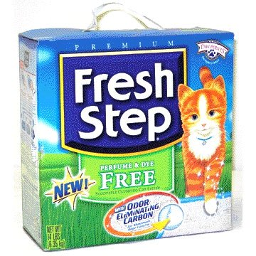 Fresh Step Perfume and Dye Free Litter 14 lbs Best Price