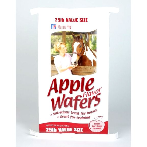 Apple Flavored Wafers for Horses 25 lbs. Best Price