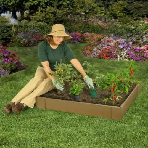 Raised Garden Kit - 42 X 42 X 6 in. Best Price