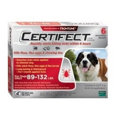 Certifect For Dogs / Size (89-132 lbs.) Best Price