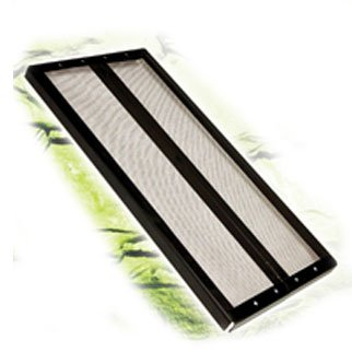 Reptile Screen With Center Hinge 36x12 Inch