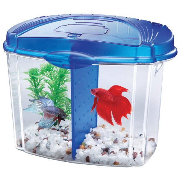 Aqueon Betta Bowl Starter Kit - 1/2 GALLON