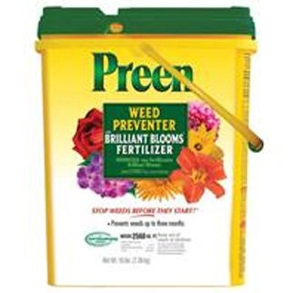 Preen Weed Preventer w/ Brilliant Blooms  / Size (Drum 22.8 lbs.) Best Price