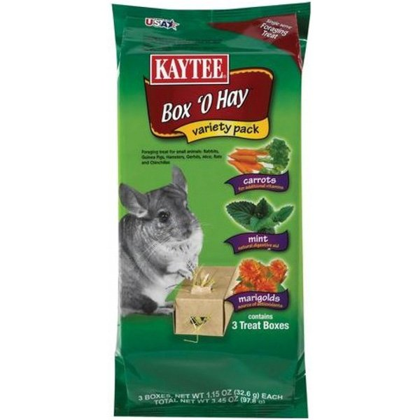 Box O Hay Value Pack For Small Pets 3.45 Oz.