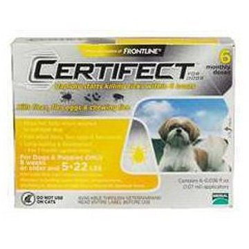 Certifect For Dogs / Size (5-22 lbs.) Best Price
