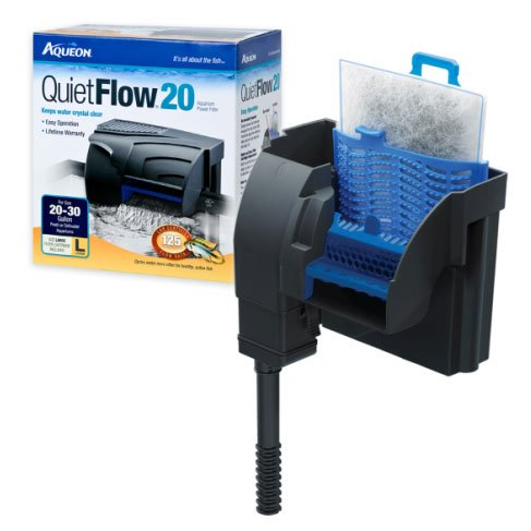Aqueon Power Filter / Size Quietflow 20 125gph