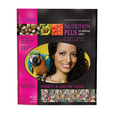 Nutrition Plus Supreme Parrot / Macaw - 5 lbs Best Price