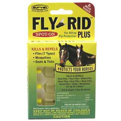 Fly Rid Plus Spot-On for Horses Best Price