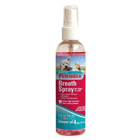 Petrodex Breath Spray For Dogs Cats 4 Oz.
