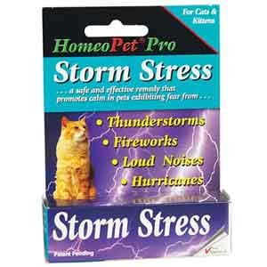 Homeopet Storm Stress Feline Remedy