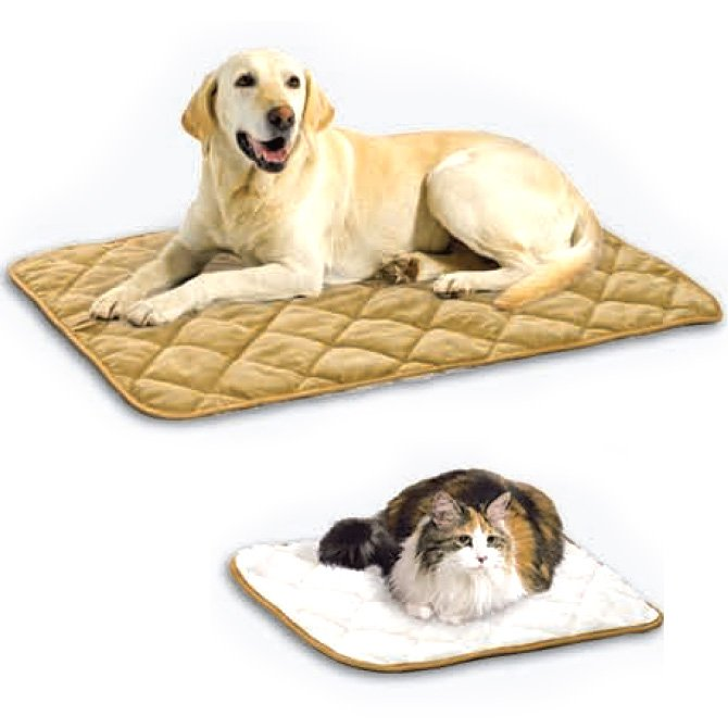 Quilted Reversible Pet Mat