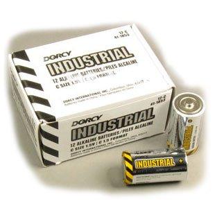 Industrial Alkaline C Batteries (Case of 72) Best Price