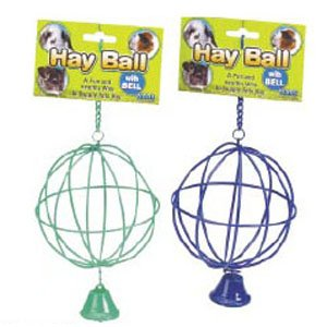 Hay Ball with Bell for Small Pets Best Price