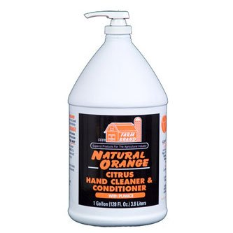 Natural Orange Hand Cleaner - Gallon Best Price