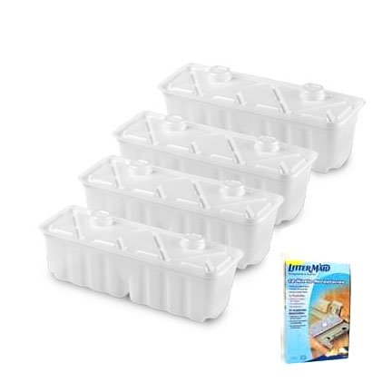 Littermaid Waste Receptable 12 Pack