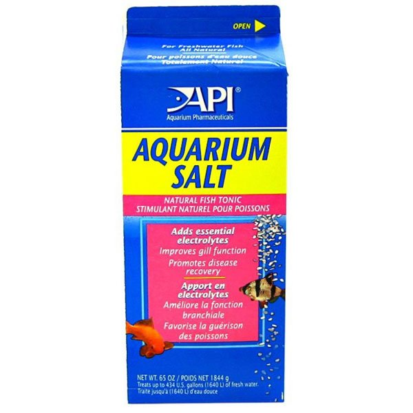 Api Aquarium Salt / Size 65 Oz