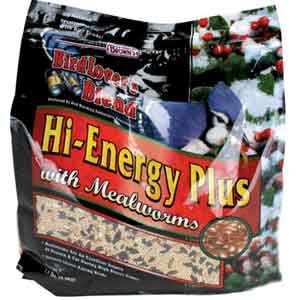 Birdlovers Blend Hi Energy Plus With Mealworms 7.5 Lb.