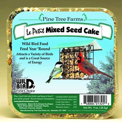 Le Petit Mixed Seed For Wild Birds 9 Oz.
