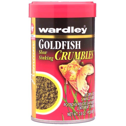 Wardley Goldfish Crumbles 2.5 Oz