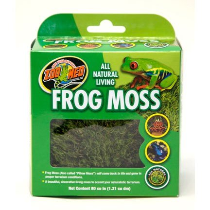 All Natural Frog Moss 80 Cu. In Best Price