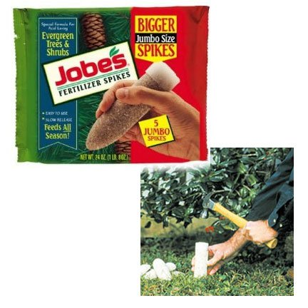 Fertilizer Spikes for Evergreen Trees and Shrubs / 5 pack - 1.5 lb. Best Price
