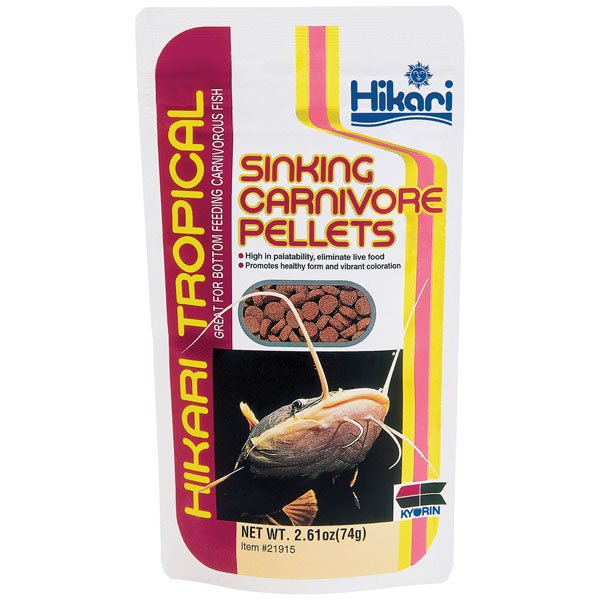 Sinking Carnivore Pellets By Hikari 2.61 Oz.