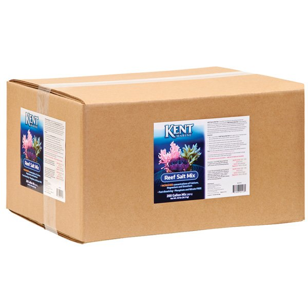 Kent Aquarium Salt Mix Box - 200 Gal. Best Price