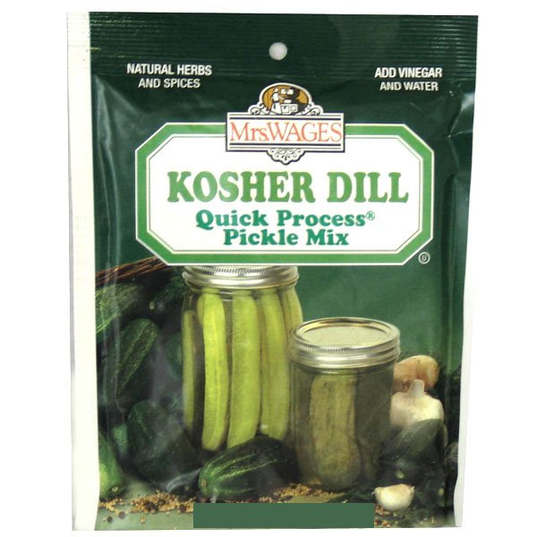 Quick Process Kosher Dill Pickle Mix 6.5 oz. Best Price