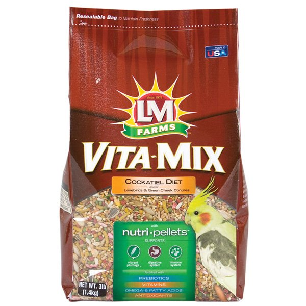 Vita-Mix Cockatiel Food - 3 lbs. Best Price