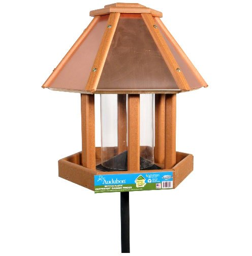Going Green Coppertop Gazebo BirdFeeder - 15X15X8 Best Price