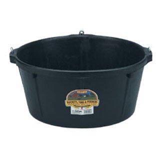 Duraflex Rubber Feed Pan / Size (6.5 gal. w/hooks) Best Price