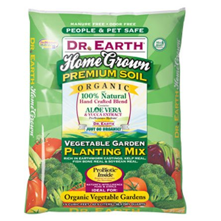 Dr. Earth Home Grown Vegetable Planting Mix - 1.5 CUBIC ft. Best Price