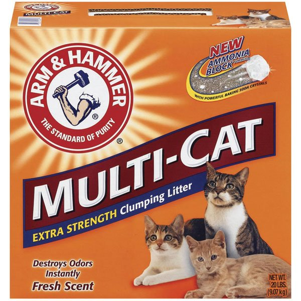 Multi Cat Strength Clumping Litter / Size 21 Lbs.
