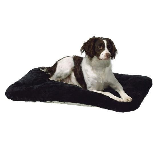 Quiet Time Deluxe Black Pet Mat / Size (30 x 19) Best Price