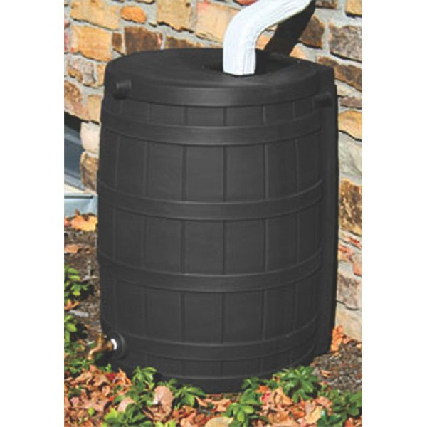 Rain Wizard Rain Water Barrel / Color (Black) Best Price