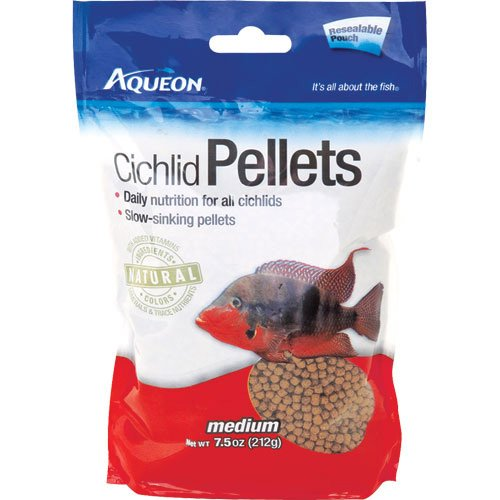 Aqueon Cichlid Medium Pellets 7.5 oz. Best Price