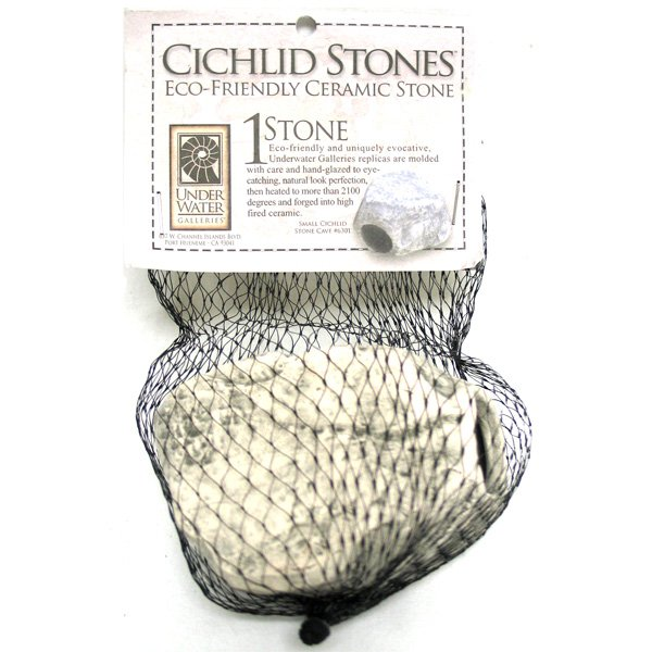 Cichlid Stone Round Small