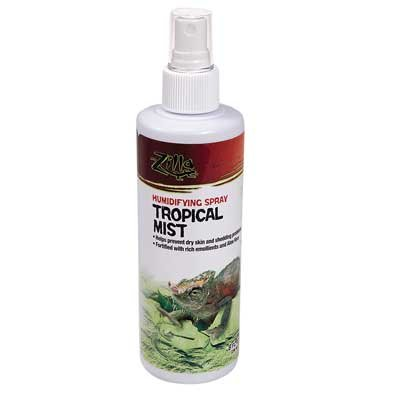 Zilla Tropical Mist Spray For Reptiles 8 Oz.