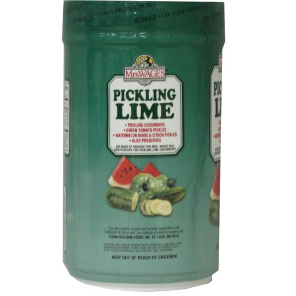 Mrs. Wages Pickling Lime - 1 lbs. Best Price