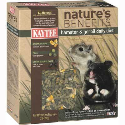 Natures Benefits Hamster / Gerbil 2 lbs Best Price