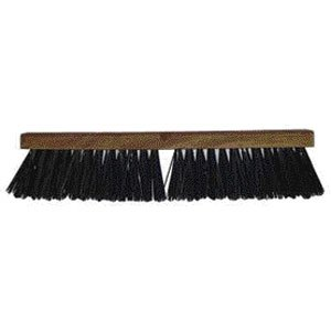 Heavy Duty Slim Push Broom 24 in. Best Price
