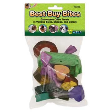Best Buy Bites Assorted Small Animal Chews - 16pc Best Price