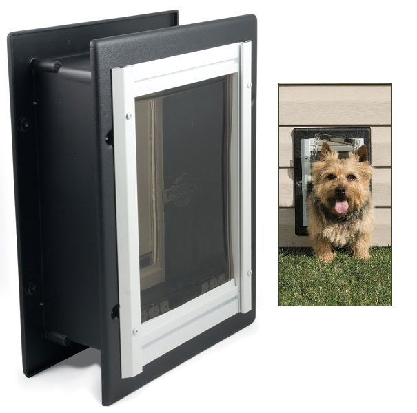 Small Wall Entry Aluminum Pet Door (PetSafe) Best Price