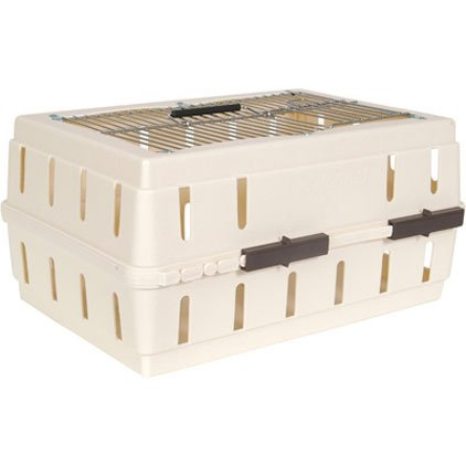 Cabin Kennel for Pets with Wire Top Crate Best Price